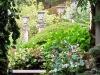 Jardin florentin, pergola 04