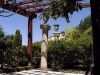 Jardin florentin, pergola 05
