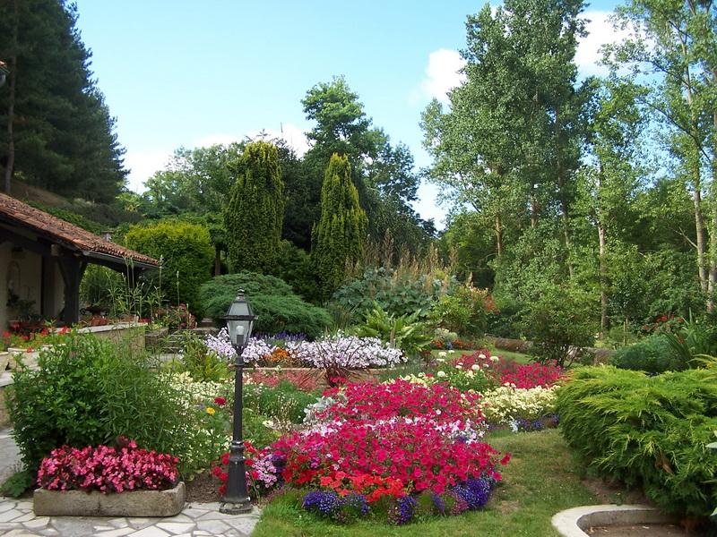 Entrée du Jardin Florentin