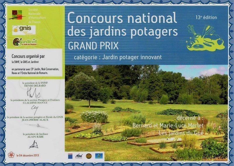 Grand prix des Jardins potagers de France