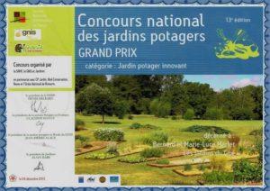Grand Prix, Jardins Innovants