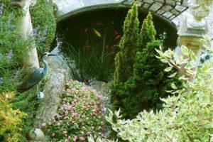 Jardin florentin bassin