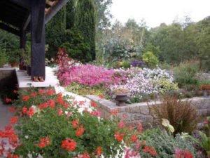 Jardin florentin muret