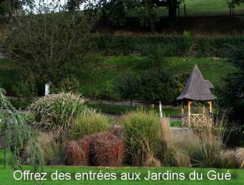 Billets d'entrée Jardins du Gué
